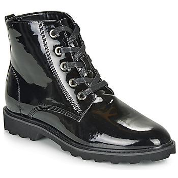 Shoes Women Mid boots Moony Mood FRULIN Black