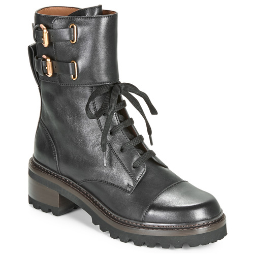 Shoes Women Ankle boots See by Chloé MALLORY Black