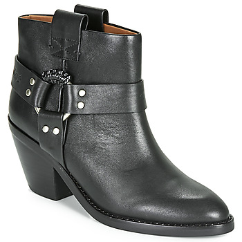 Shoes Women Ankle boots See by Chloé FEDDIE Black