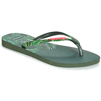 Shoes Women Flip flops Havaianas SLIM SENSATION Green