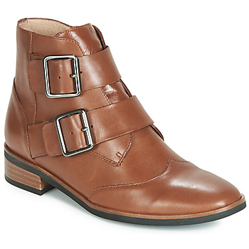Shoes Women Mid boots Karston JIRONO Brown