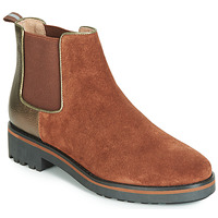 Shoes Women Mid boots Karston ONKIX Brown