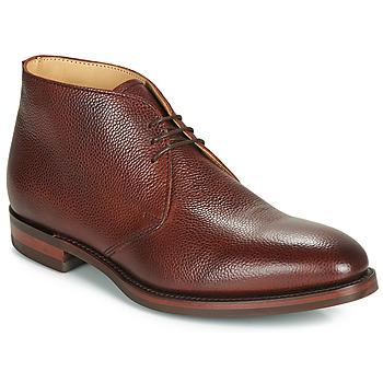 Shoes Men Mid boots Barker OAKNEY Bordeaux