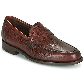 Shoes Men Loafers Barker JEVINGTON Brown