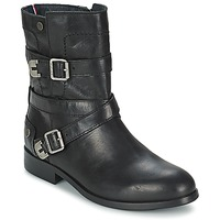 Shoes Women Mid boots Tommy Hilfiger PIPER 1A Black