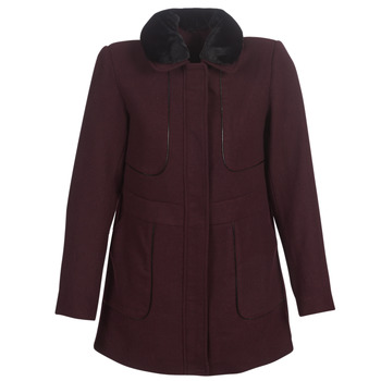 material Women coats Betty London LAURA Bordeaux