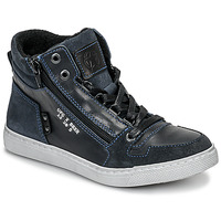 Shoes Boy High top trainers Bullboxer AGM531E6L-NGBLK Marine