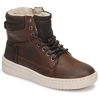 Shoes Boy High top trainers Bullboxer AID500E6L-DKCG Brown