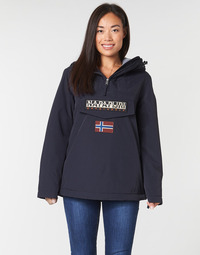 material Women Parkas Napapijri RAINFOREST WINTER Marine