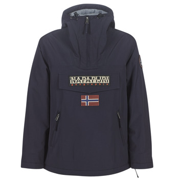 material Women Parkas Napapijri RAINFOREST POCKET Marine