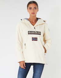 material Women Parkas Napapijri RAINFOREST POCKET White