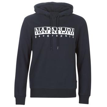 material Men sweaters Napapijri BERBER HOODIE Marine