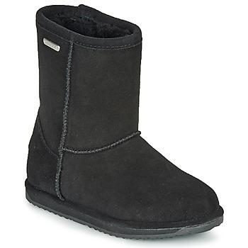 Shoes Girl Mid boots EMU BRUMBY LO WATERPROOF Black