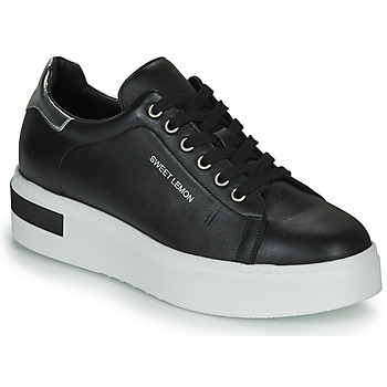 Shoes Women Low top trainers Sweet Lemon BISTROT Black