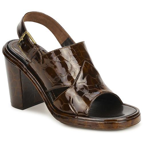 Shoes Women Sandals Rochas TARTAF Brown