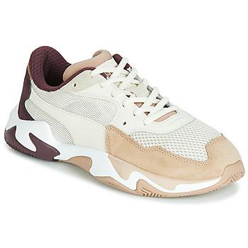 Shoes Women Low top trainers Puma STORM ORIGIN NOUGAT Beige