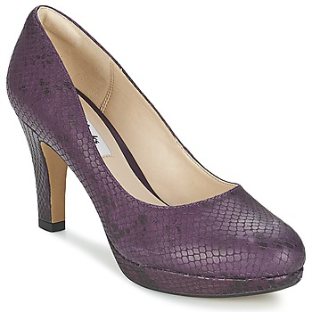 Shoes Women Court shoes Clarks CRISP KENDRA Violet