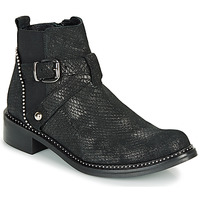 Shoes Women Mid boots Regard ROALA V1 CROSTE SERPENTE PRETO Black