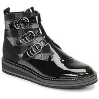 Shoes Women Mid boots Regard ROCPOL V3 VERNIS Black