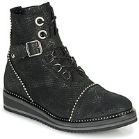Shoes Women Mid boots Regard ROCTALY V2 CRTE SERPENTE SHABE Black