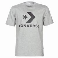 material Men short-sleeved t-shirts Converse STAR CHEVRON Grey