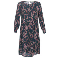 material Women Long Dresses See U Soon 9222127 Marine / Bordeaux