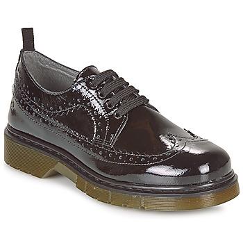 Shoes Girl Derby shoes Citrouille et Compagnie LOUVINO Black