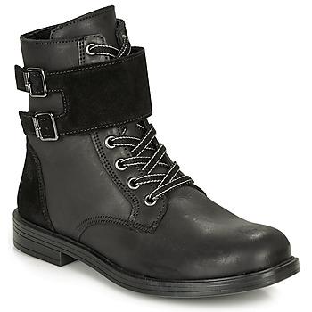 Shoes Girl Mid boots Citrouille et Compagnie LOMENE Black