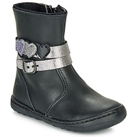 Shoes Girl Mid boots Citrouille et Compagnie LOMINE Black