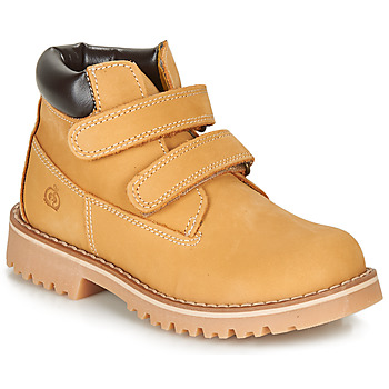 Shoes Boy Mid boots Citrouille et Compagnie LIMINOTE Camel