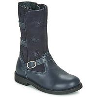Shoes Girl Boots Citrouille et Compagnie HANDRE Marine