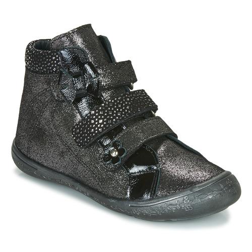 Shoes Girl High top trainers Citrouille et Compagnie HODIL Black
