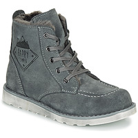 Shoes Boy Mid boots Citrouille et Compagnie LISITON Grey