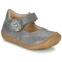 Shoes Girl Ballerinas Citrouille et Compagnie LASKIMA Grey