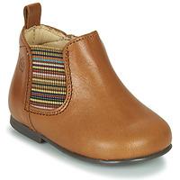 Shoes Girl Mid boots Citrouille et Compagnie LISETTE Camel