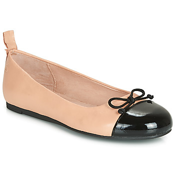 Shoes Girl Ballerinas Citrouille et Compagnie LIOGE Nude / Black
