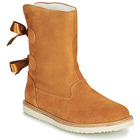 Shoes Girl Mid boots Citrouille et Compagnie LILINA Camel