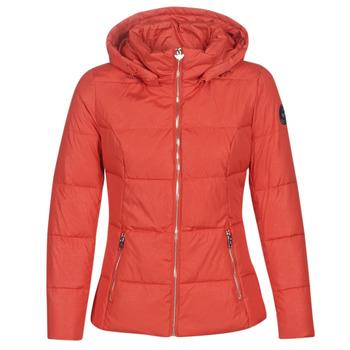 material Women Duffel coats Les Petites Bombes W19V8503 Red