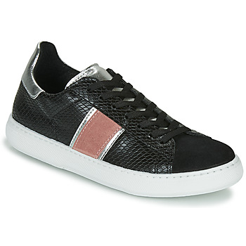 Shoes Women Low top trainers Yurban LIEO Black