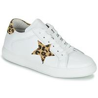 Shoes Women Low top trainers Yurban LAMBANE White