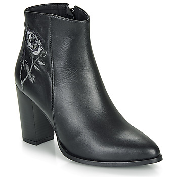 Shoes Women Ankle boots So Size BORDELO Black