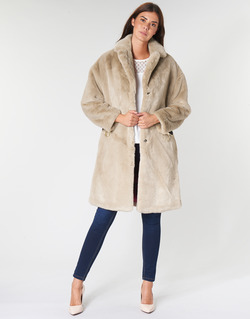 material Women coats Guess SHELLY Beige