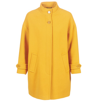 material Women coats Benetton STORI Yellow