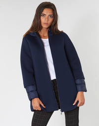material Women coats Benetton MAIREL Marine