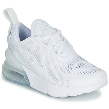 Shoes Girl Low top trainers Nike AIR MAX 270 White