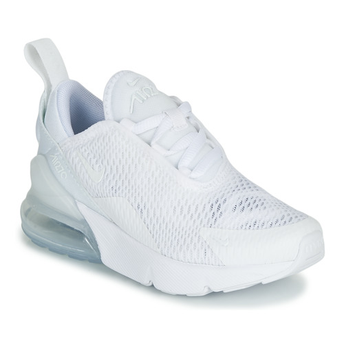 Nike Air Max 270 White Free Delivery Spartoo Net Shoes Low