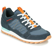 Shoes Men Low top trainers Merrell ALPINE SNEAKER Blue / Orange