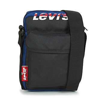 Bags Pouches / Clutches Levi's L SERIES SMALL CROSSBODY COLORBLOCK Black / Blue