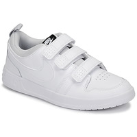 Shoes Children Low top trainers Nike PICO 5 GRAND SCHOOL White