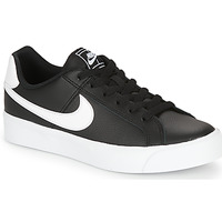 Shoes Women Low top trainers Nike COURT ROYALE AC W Black / White